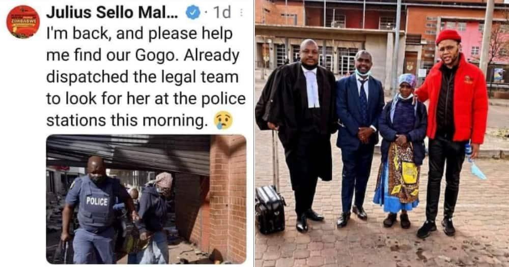 EFF, Free's Gogo, Granny, Prison, Twitter reactions
