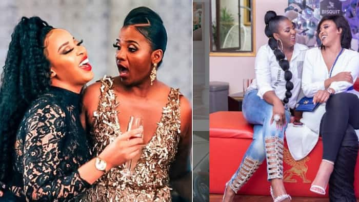 """Shauwn Mkhize jokes about embarrassing Sbahle Mpisane: """"I will show the world"""""""