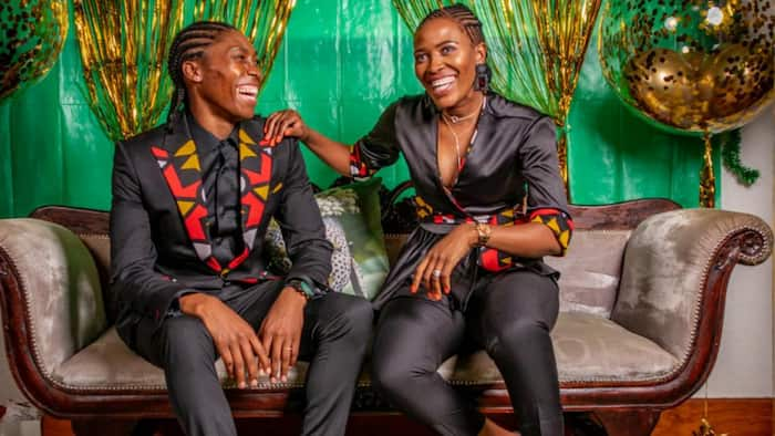 Baby on board: Caster Semenya grows her family with a new addition coming soon