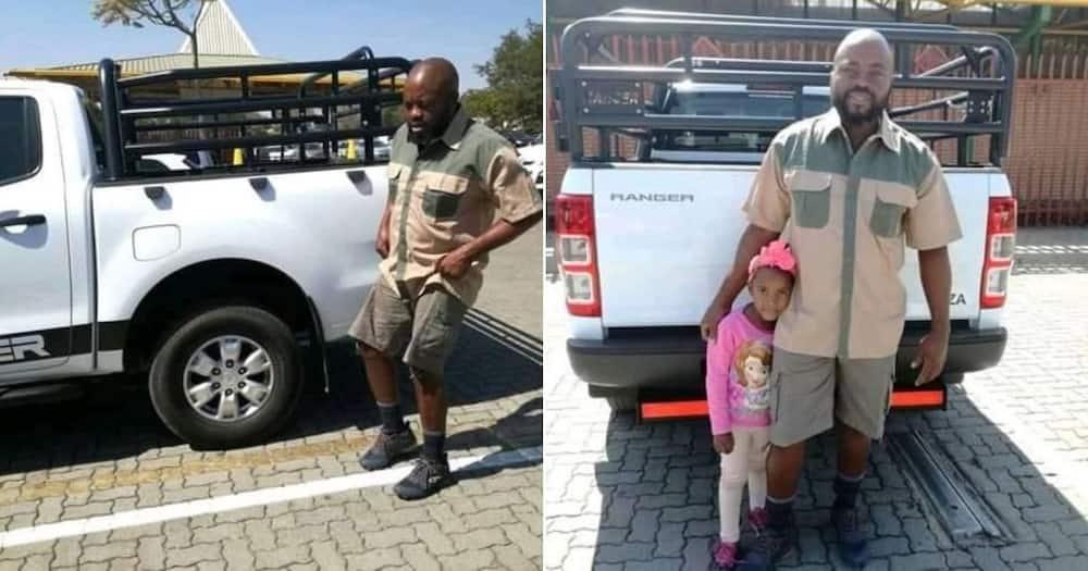 "Dad celebrates Heritage Day in Khaki, SA loves it: ""Jan Van Madondo"""