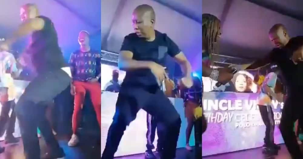 """Juju Is Wilding"": Clip of Julius Malema Dancing Leaves SA Shaking"