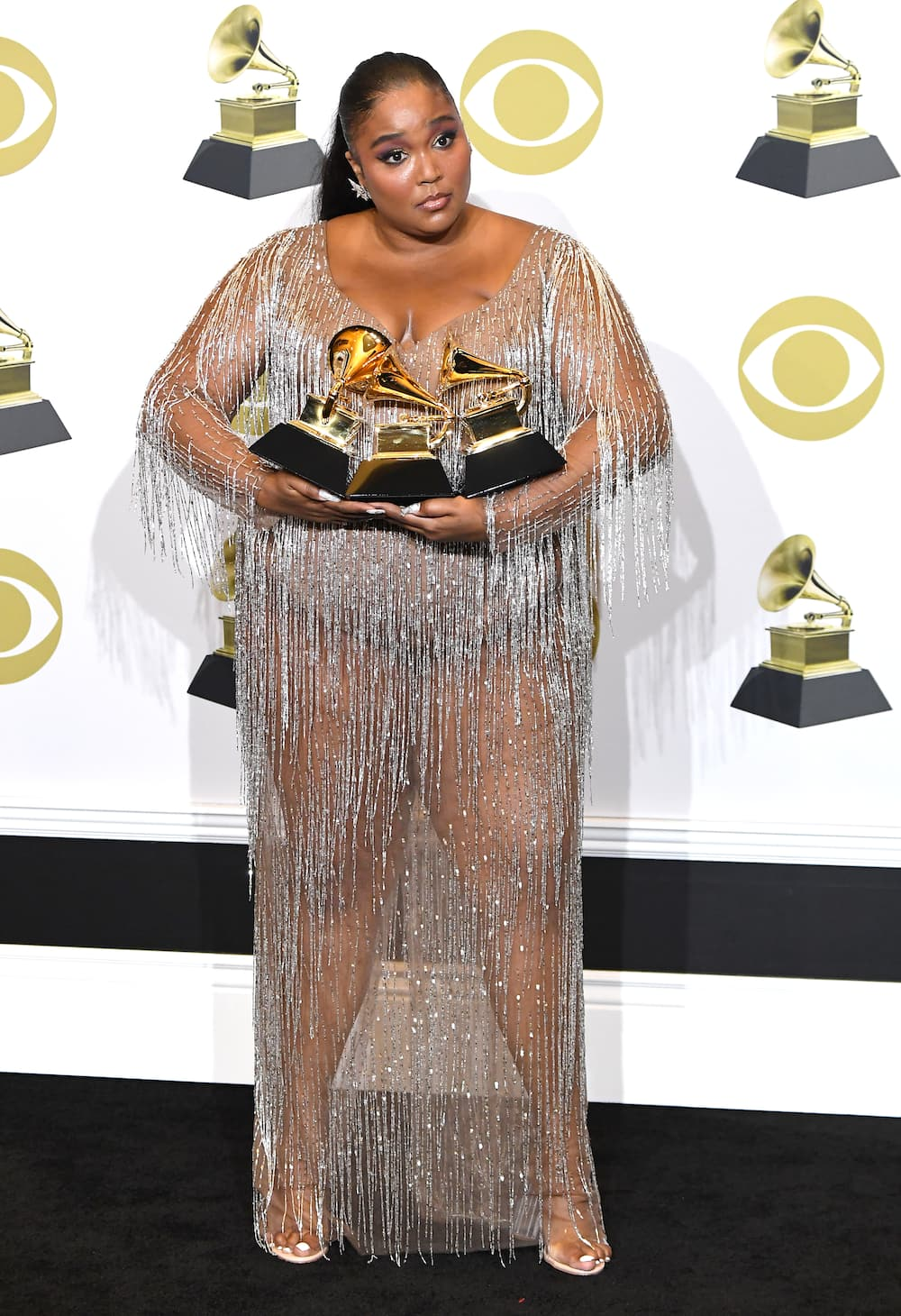 Lizzo's outfit at the Grammys
