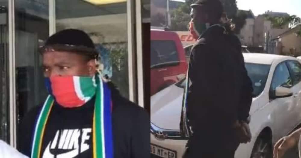 DJ Ngizwe Mchunu, police station, handcuffs, Jacob Zuma