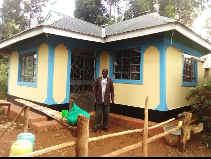 Teacher builds 3-bedroomed house to thank dad who worked as security guard