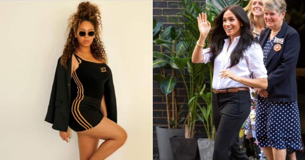 Beyoncé sends a message to Meghan Markle after interview with Oprah