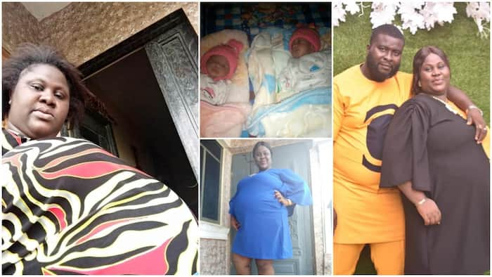 Woman gives birth to twins after 9 years of waiting, shares her love for God