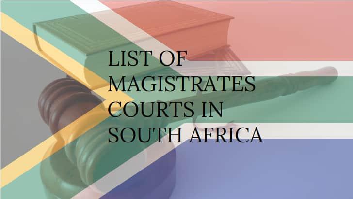 magistrates court jurisdiction