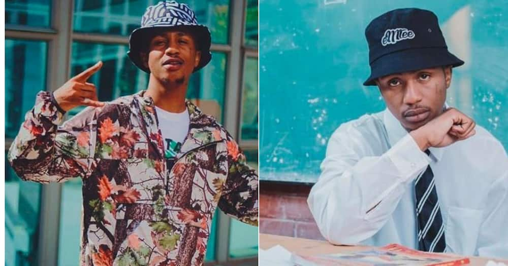 Emtee: Rapper posts pic in front of stunning house, SA reacts