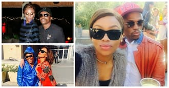 It looks like Bonang and Somizi have finally put their troubles aside