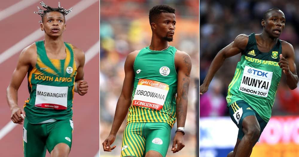 Tokyo Olympics, Shaun Maswanganyi, Anaso Jobodwana and Clarence Munyai, Men's 200m semi-finals