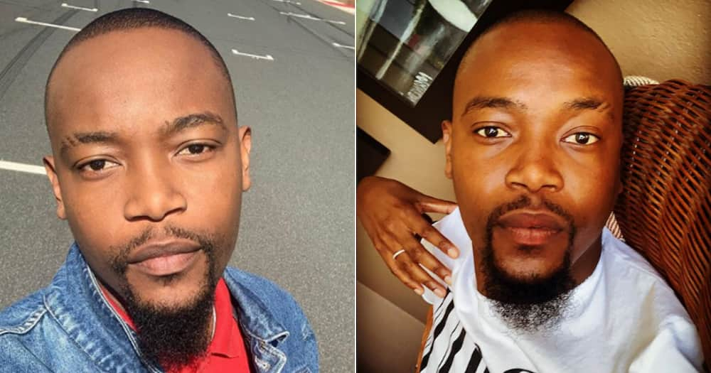 Moshe Ndiki announces he's going to be a dad and Mzansi reacts