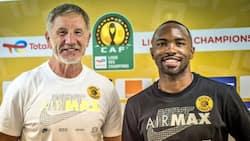 Condolences pour in for veteran Kaizer Chiefs striker Bernard Parker who lost his father