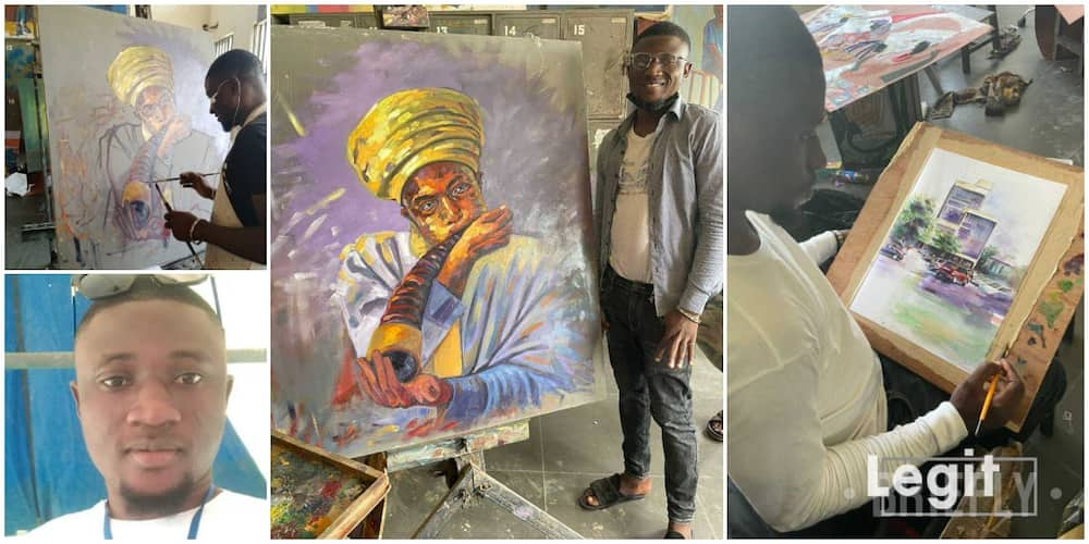 27-year-old Nigerian undergraduate explains how he lives, feeds from craft