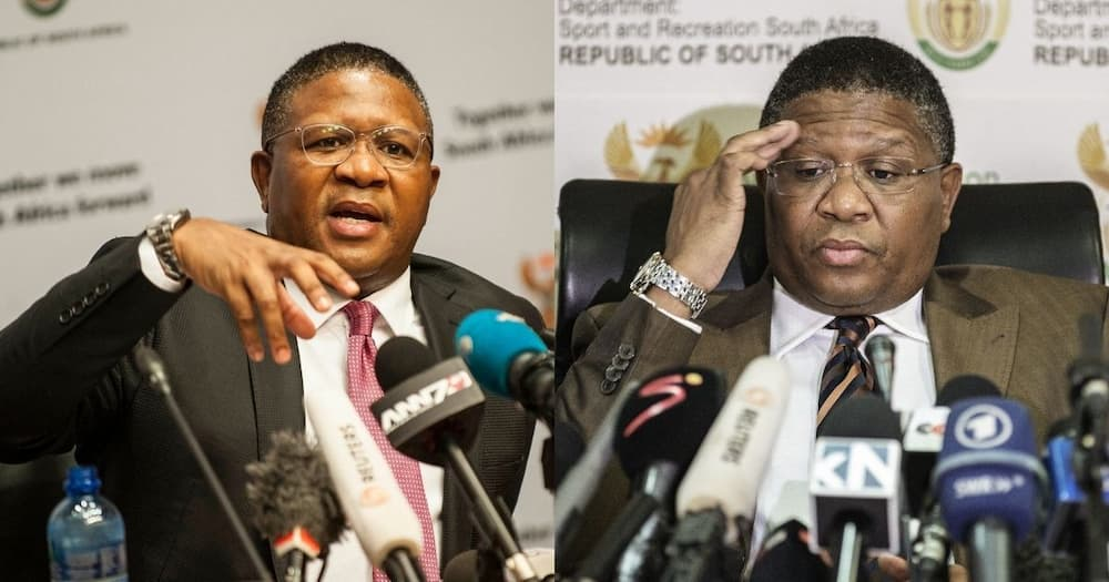 """Mbalula: """"If we are dismissed by the ANC, let us be dismissed"""""""
