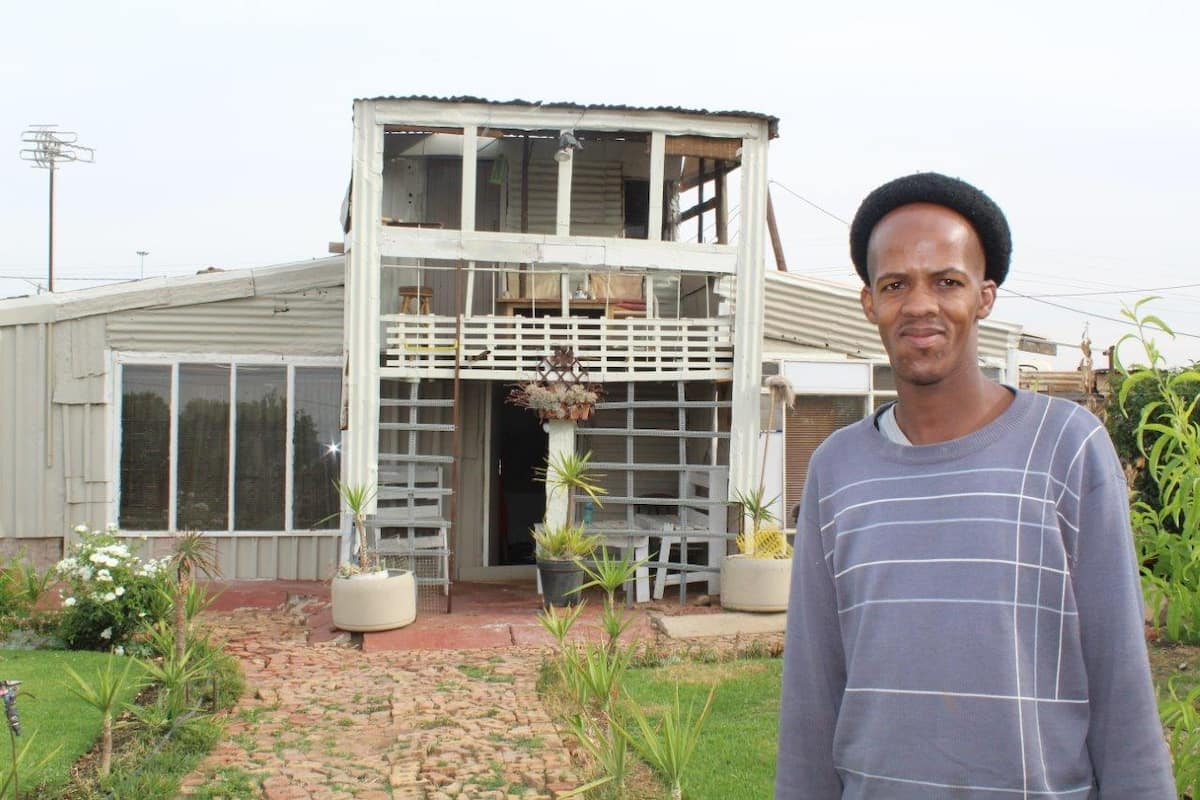 Young dad builds his own double storey dream house