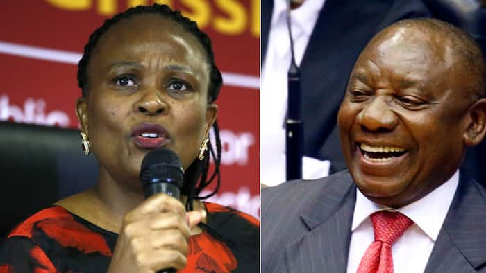 Public Protector Mkhwebane challenges Constitutional Court judgement not to unseal Ramaphosa CR17 documents