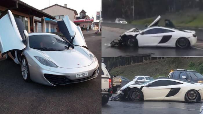 Eish: R4 million Maclaren mangled on the N1 near Cape Town