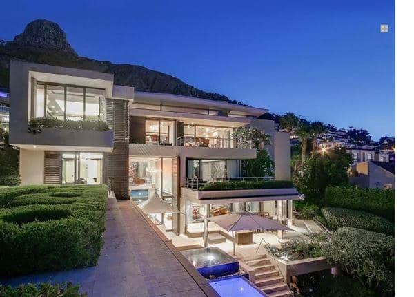 what is the most expensive suburb in South Africa?