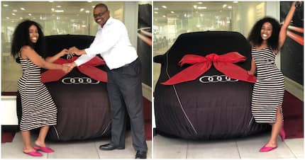 Tuks law graduate shows off brand new wheels: 'Thank you God'