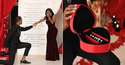 Dream proposal! Man buys 6 rings so his girlfriend can choose one