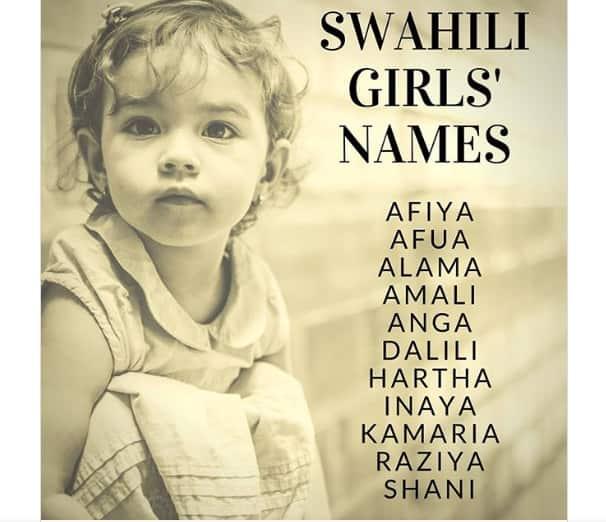 Swahili names