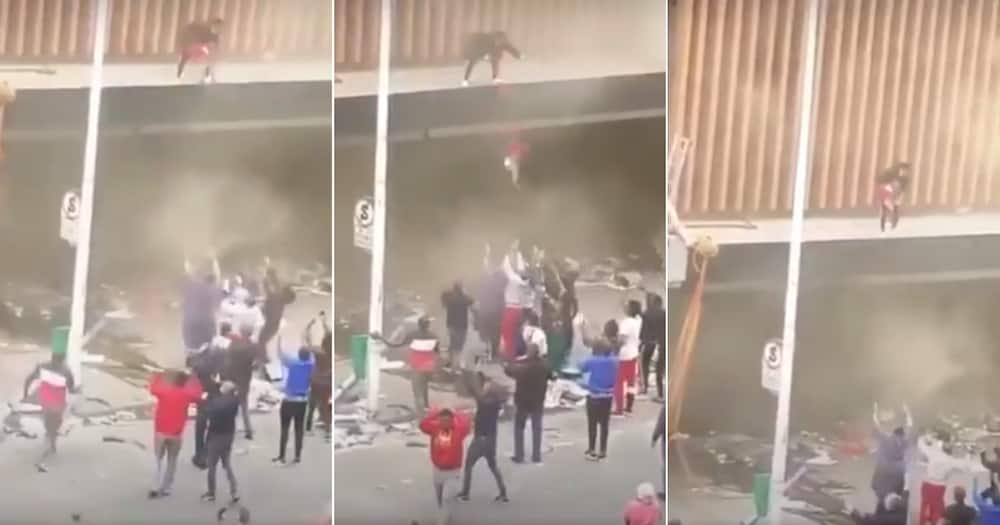 Child, Burning Building, Rescued, Twitter reactions