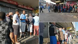 Alexandra streets are still full of people despite Mzansi's lockdown