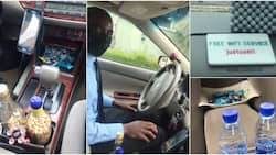 Taxi driver impresses people with refreshments and free wi-fi, people donate cash