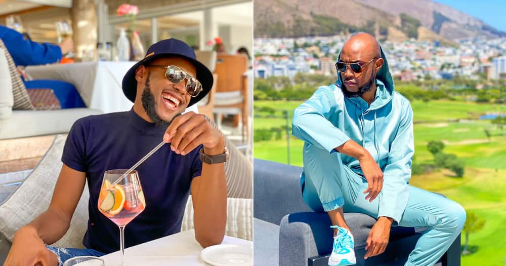 Mohale Motaung Mhlongo shares a new pic, fans notice ring is gone