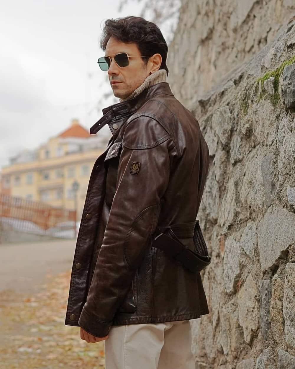 leather jackets brands for men