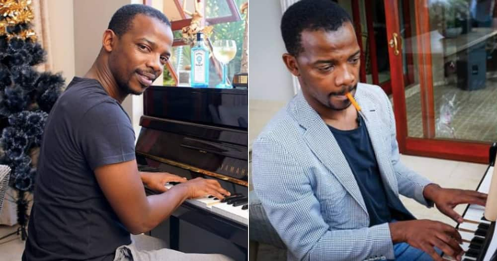 Zakes Bantwini reflects on the painful past in sad throwback