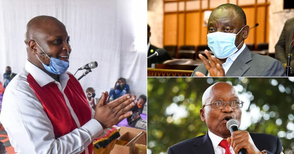 Floyd Shivambu sticks up for Zuma, calls for CR17 bank, Floyd Shivambu sticks up for Zuma, calls for CR17 bank