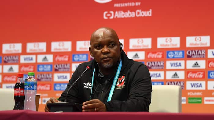 Pitso Mosimane is devastated over treatment from Al Ahly fans in Egypt