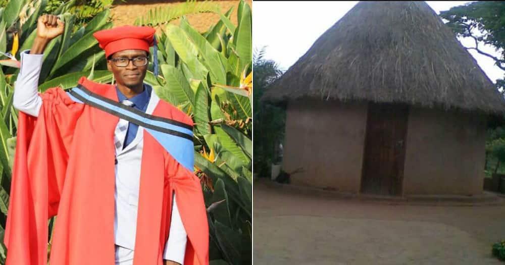 Meet Tshilidzi Nenzhelele, who obtained PhD while living in mud house