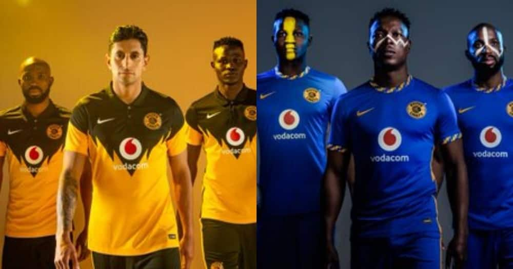 Kaizer Chiefs shows off their new kits, SA reacts