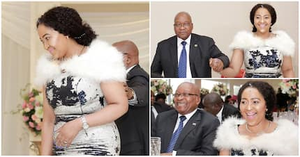 One of Jacob Zuma's wives sends him a touching message: I got your back'