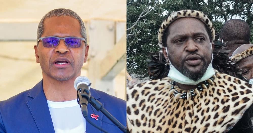 IFP apologises, using King Misuzulu, poster