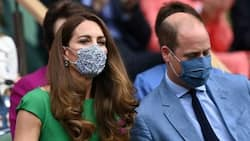 Prince William steps out with wife days after she went into isolation over Covid-19 fears