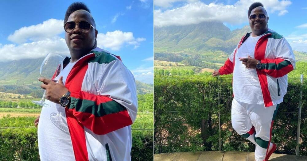 "Inside Dladla Mshunqisi's 30th birthday celebration: ""Beautiful décor"""