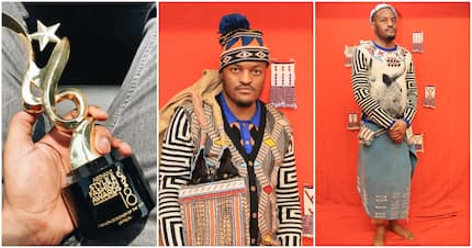 Laduma Ngxokolo wins African Fashion Designer of the Year award