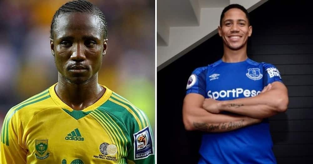 Mzansi is divided on who is better between legends Teko Modise and Steve Pienaar. Image: @TeamTekoModise/@TheRealStevenPi/Instagram/Twitter