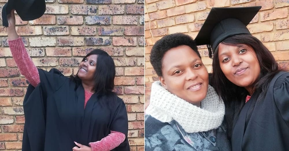 Mzansi feels truly inspired by a stunning woman who graduates as a technician. Image: @LeeAnnMothoa/Facebook