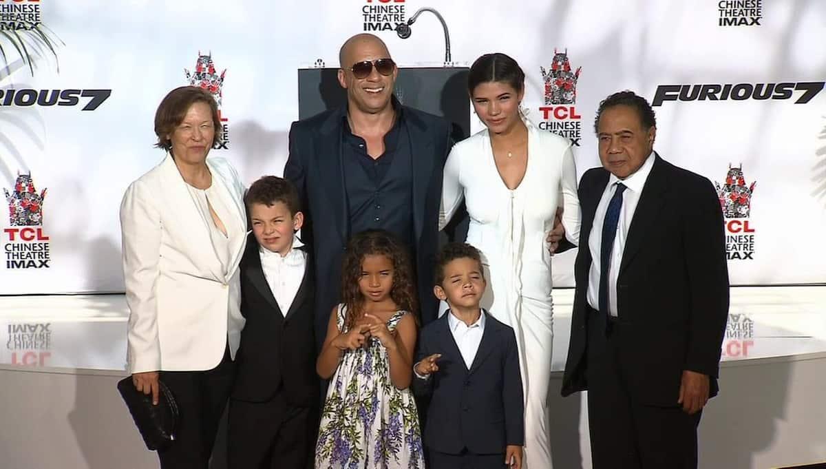 Vin Diesel Familie