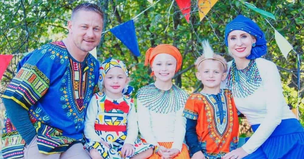 Heritage Day, nation, united, family, traditional wear