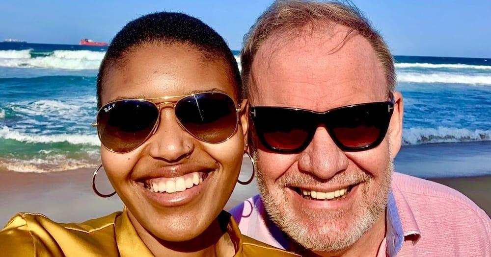 Mzansi, Reacts, Carl Niehaus, Snaps, Beach, Wife