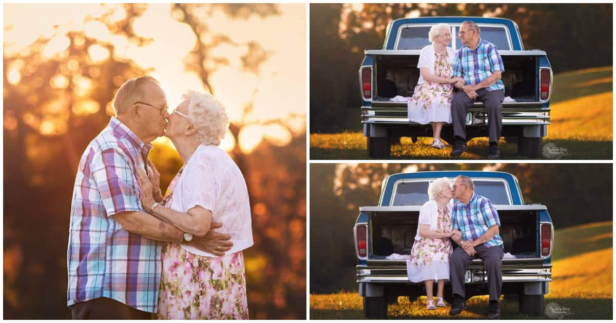 Couple celebrates 65 years together, and their photos wowed the internet