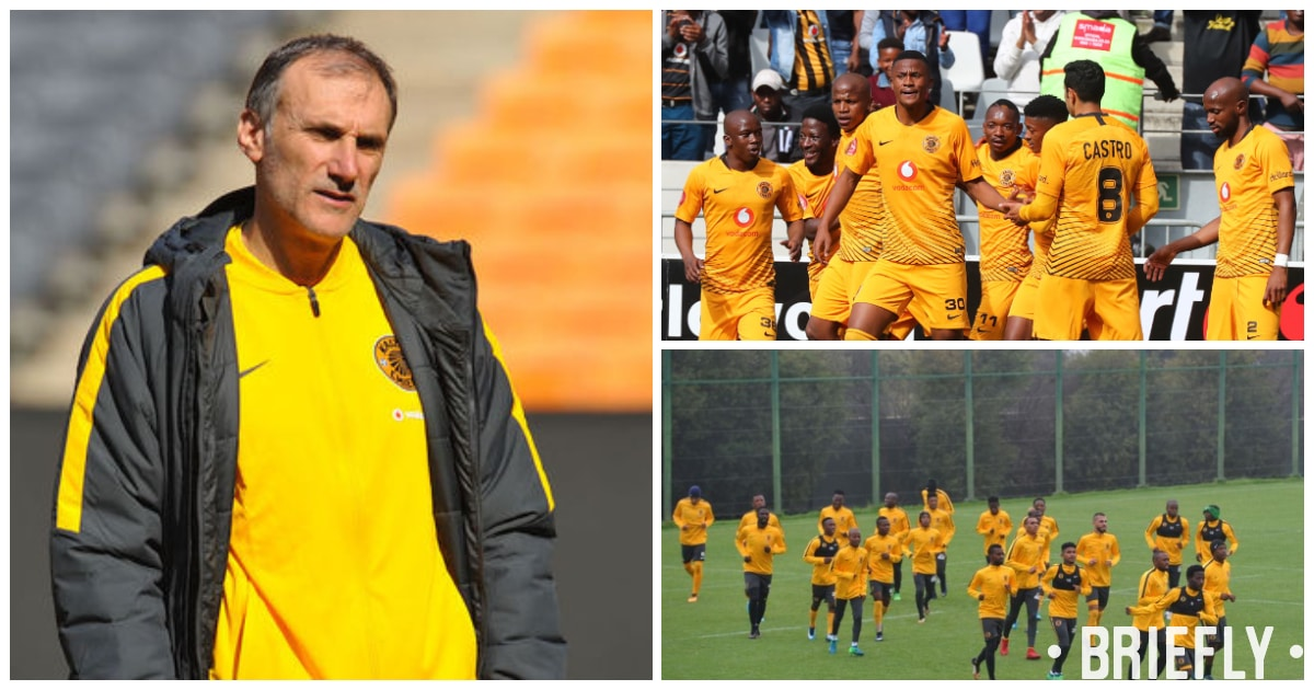 Kaizer Chiefs coach Giovanni Solinas unhappy with side's performance against Polokwane