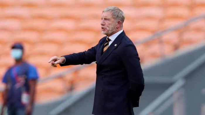 Stuart Baxter is not to blame, according to Kaizer Chiefs club legend Rudolf Seale