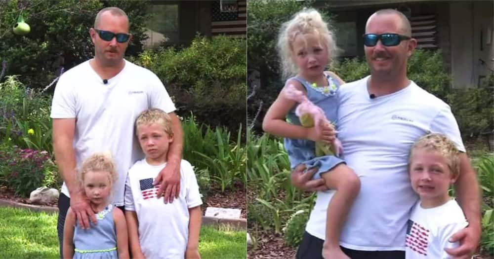 7-Year-Old Boy Swims in River for An Hour to Help Stranded Dad and Sister
