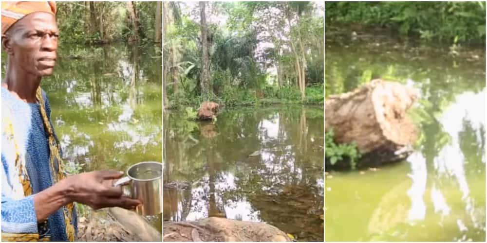 Sogidi Lake is in Awe, a town in Oyo state